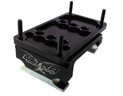 New Ultramax Karting Ultra Pro Motor Mount,black Anodized, 8 Or 15 Degree