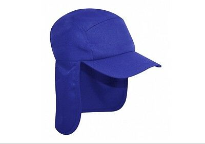 Blue Legionnaire Sun Neck Cover Snapback Cap Sports Hat - PROTECT YA NECK