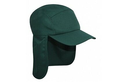 Green Legionnaire Sun Neck Cover Snapback Cap Sports Hat - PROTECT YA NECK