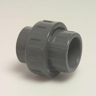 High Quality PVC U Union Couplers Solvent Weld 20 25 32 40 50 63 mm PVCU