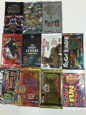 Nrl Card  Unopened Pack Collection Full Collection (1994--2012)- Unique & Rare
