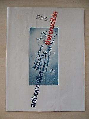1972 - Vivian Beaumont Theatre Playbill - The Crucible - Pamela Payton-Wright
