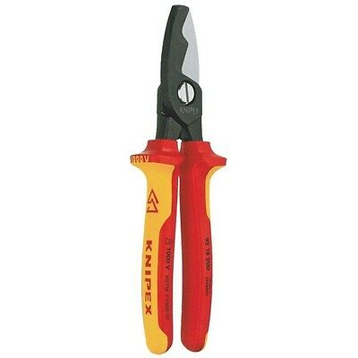 Knipex Insulated Cable Shears w/Twin Cutting Edge 21584