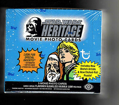 Star Wars Heritage sealed  Box autograph,sketch Carrie Fisher,  Mark Hamil ??