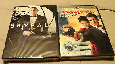 SKYFALL (2012) & DIE ANOTHER DAY (2002). 007 Craig, Brosnan, Halle Berry. NEW