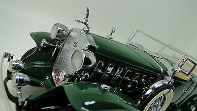 1930's Cadillac Rare V 16 Exotic Classic Show Car 1 24 GT Carousel Green lag