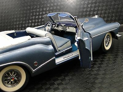 1950s Buick Car Rare Vintage Classic Harley Earl Concept 1 24 Diecast Model Blue