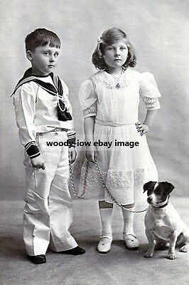mm954 - Prince Rupert & Princess May of Teck - photo 6x4