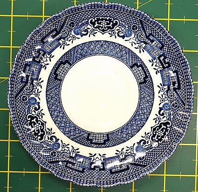 Royal Wessex, Saucer (only), Made In England, 145mm Diameter, Blue Pattern