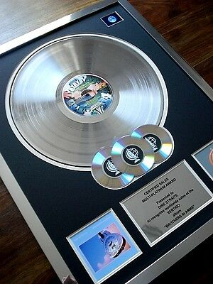 Dire Straits Brothers In Arms Lp Multi Platinum Disc Record Award Album