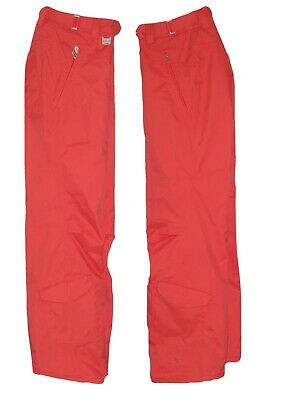 Nike Womens 6.0 Prieka SNOWBOARD SKI SNOW Trousers Pants Orange M AUTHENTIC