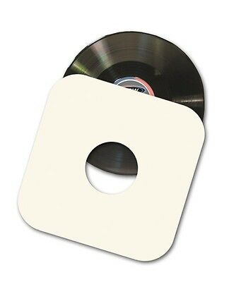 "(25) BCW 12"" Paper Record Album Inner Sleeves 33 1/3 RPM w/ Hole - Virgin Paper"