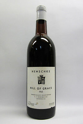 Henschke Hill of Grace Shiraz 1963 Red Wine
