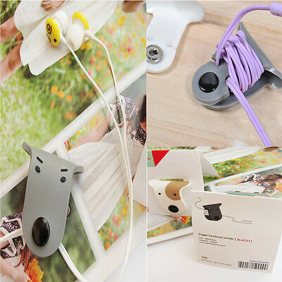 Cute Doggie Earphone Winder Lovers Cable Management For Android Iphone Mp3 Ipod
