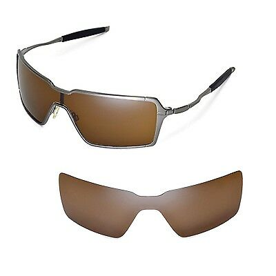 New WL Polarized Brown Replacement Lenses For Oakley Probation Sunglasses