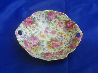 Royal Winton Chintz Summertime Ascot Round Candy Dish  Grimwades 775