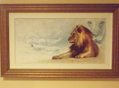 """Walt Disney Limited Edition """"The Great Lion"""" From Chronicles Of Narnia"""