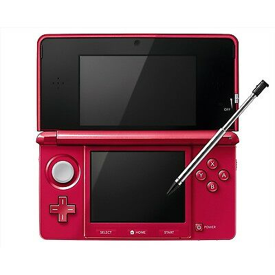 Nintendo 3DS Console metallic red [only plays Japanese version games] NEW F/S