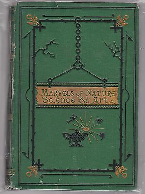 Illustrated Book Of Wonders Hb Book Marvels Of Nature Science & Art Arm & Armor