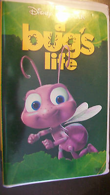 A Bug's Life (VHS, 1999) CLAM SHELL