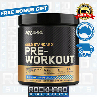 Optimum Nutrition Gold Standard Pre-Workout 30 Serves Energy