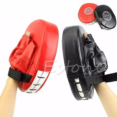 New Boxing Mitts MMA Target Focus Punch Pad Training Glove Karate Thai Kick Muay