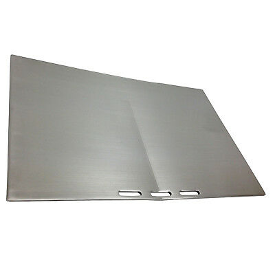 New BeefEater  320mm x 480mm Stainless Steel Plate
