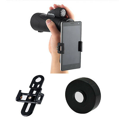 Universal Cell Phone Adapter Connect Mobile to 42mm Eyepiece Telescope&Binocular