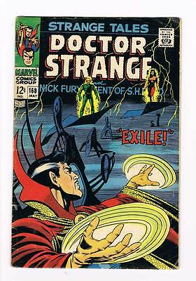 Strange Tales # 168 Nick Fury Doctor Strange grade 4.5 scarce hot book !