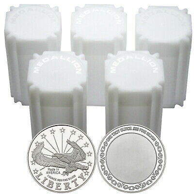 Liberty Eagle 1oz .999 Fine Silver Round by SilverTowne LOT OF 100