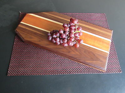 Grain Tones Handcrafted Wood Cutting Board