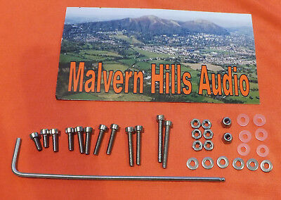Universal Cartridge Mounting Kit - Set of Bolts / Screws / Nuts any Headshell