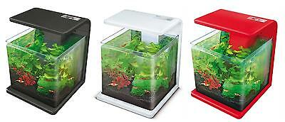 Superfish Wave 15 Aquarium 15 Litres Nano Tropical Fish Tank Aquatic • EUR 68,75