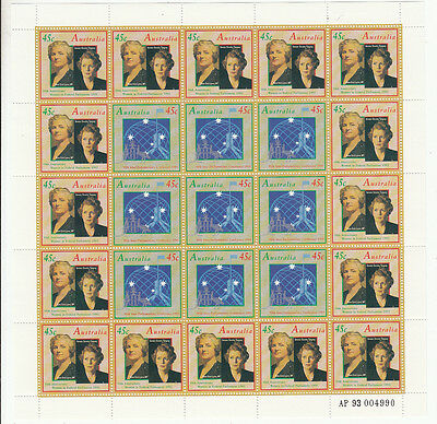 Stamps Australia 50th anniversary women in parliament limited edition number