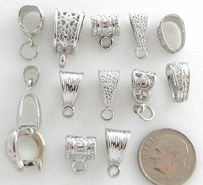 Jewelry Basics Mixed Bail Pack-SILVER (13 PC)