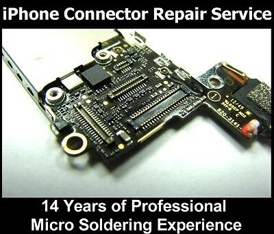 Apple IPHONE 5 5c 5s LCD Glass Touch Screen PLUG SOCKET repair service