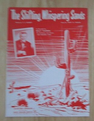 The Shifting, Whispering Sands Sheet Music Billy Vaughn Cover