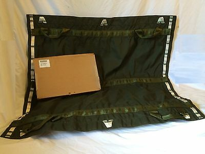Us Military Parachute Line Leaf Rope Strap Rappel Bag Od Green Shooting Mat Tarp