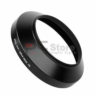 55mm wide angle Metal Black Lens Hood for Canon Nikon Sony Pentax Olympus lens