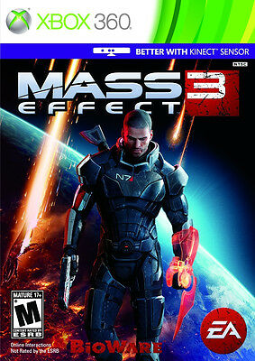 Mass Effect 3 Xbox 360 Game Complete!