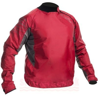 Gul Shore Waterproof Spray Top Jacket Cag Watersports Canoe Kayak Sailing Red