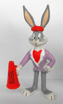 WARNER BROS LOONEY TUNES pvc figure BUGS BUNNY 1995 movieworld Germany