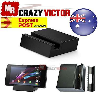 New Magnetic Desktop Charging Cradle Dock with USB cable For Xperia Z3 DK48
