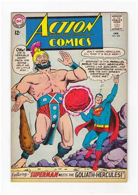 Action Comics # 308  Superman Meets Goliath-Hercules !  grade 6.0 scarce book !