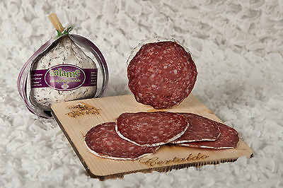 Salame Alla Cipolla Di Certaldo Gr. 550 (Salami With Onion From Certaldo)