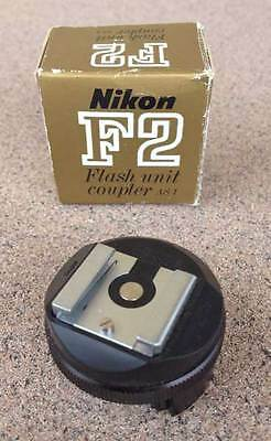Nikon AS-1 Flash Unit Hot Shoe Coupler for F F2 F2S F2SB F2A F2AS  AS1 with box