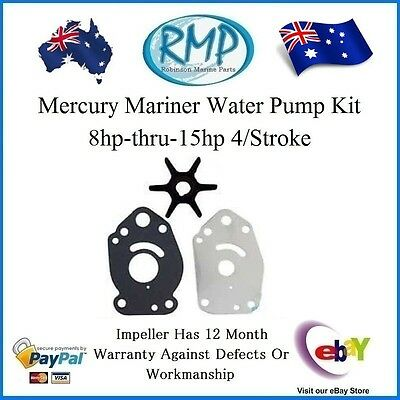 A Brand New Water Pump Kit Mercury Mariner 8hp-thru-15hp 4/Stroke R 47-42038T3