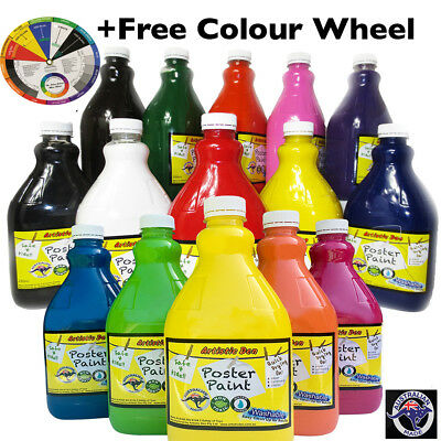 Washable Kids aint Poster Paint  Children Paint - City Metro Delivery Only