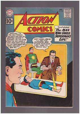 Action Comics # 281  The Man Who Saved Superman !  grade 5.0 Silver Age DC