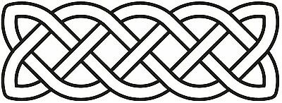 Celtic Symbol Sign Ancient Celts Iron Age Bumper Sticker Tool Box Sticker